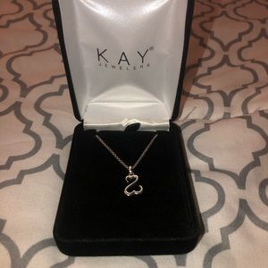Kay Jewelers Open Hearts Necklace